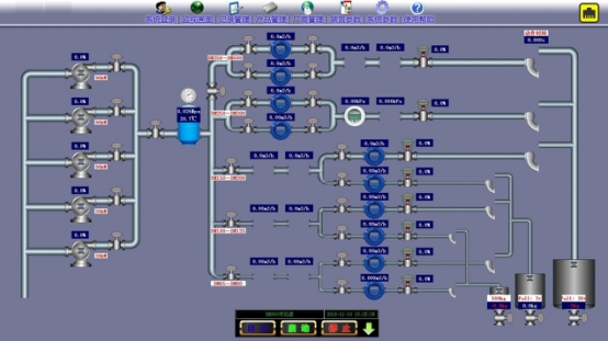 Liquid Flow meter Calibration Software
