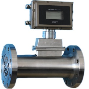 natural gas turbine flow meter