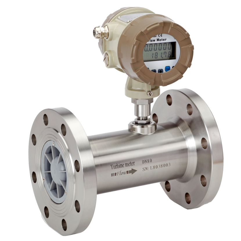 TURBINE FLOW METER FOR WATER MEASUREMENT WITH 4-20MA OUTPUT